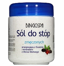 Kup Sól do zmęczonych stóp - BingoSpa Salt for Tired Feet