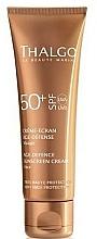 Kup Przeciwstarzeniowy krem przeciwsłoneczny do twarzy SPF 50+ - Thalgo Age Defence Sunscreen Cream SPF 50