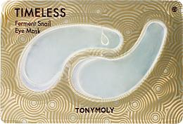 Kup Hydrożelowe płatki pod oczy ze śluzem ślimaka - Tony Moly Timeless Ferment Snail Eye Mask