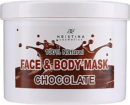 Kup Czekoladowa maska do twarzy i ciała - Hristina Cosmetics Face & Body Chocolate Mask