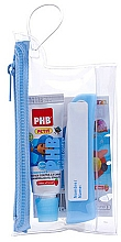 Kup Zestaw - PHB Petit Strawberry Travel Kit (toothbrush+toothpaste/15ml+bag)