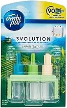 Kup Zestaw wkładów zapachowych Japońskie tatami - Ambi Pur (refill 3 x 7 ml)