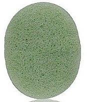 Kup Gąbka konjac do mycia twarzy, owalna Aloes - Bebevisa Konjac Sponge
