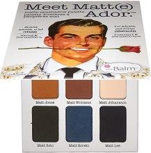 Kup Paleta matowych cieni do powiek - theBalm Meet Matt(e) Ador Matte Eyeshadow Palette