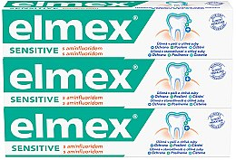 Kup Zestaw - Elmex Sensitive Toothpaste (toothpaste/3x75ml)