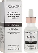 Serum do twarzy ze srebrem koloidalnym - Revolution Skincare Colloidal Silver Serum — фото N1