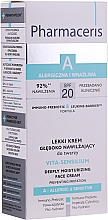 Kup Lekki krem głęboko nawilżający do twarzy - Pharmaceris A Vita Sensilium Deeply Moisturizing Cream