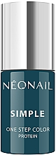 Kup Hybrydowy lakier do paznokci - NeoNail Simple One Step Color Protein