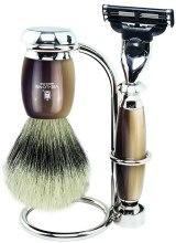 Kup Zestaw - Vie-Long (brush/1pcs + razor/1pcs + stand/1pcs)