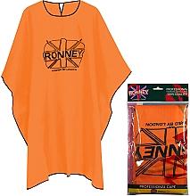 Kup Peleryna fryzjerska, pomarańczowa - Ronney Professional Hairdressing Cape One Size Orange