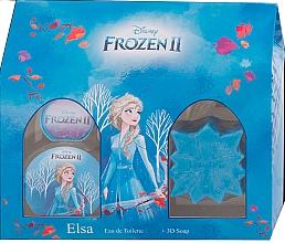Kup Disney Frozen II Elsa Gift Set - Zestaw (edt 50 ml + soap 50 g)