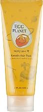 Maska keratynowa do włosów zniszczonych - Daeng Gi Meo Ri Egg Planet Keratin Hair Pack — фото N1
