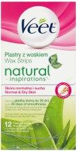 Kup Plastry z woskiem do depilacji skóry normalnej i suchej - Veet