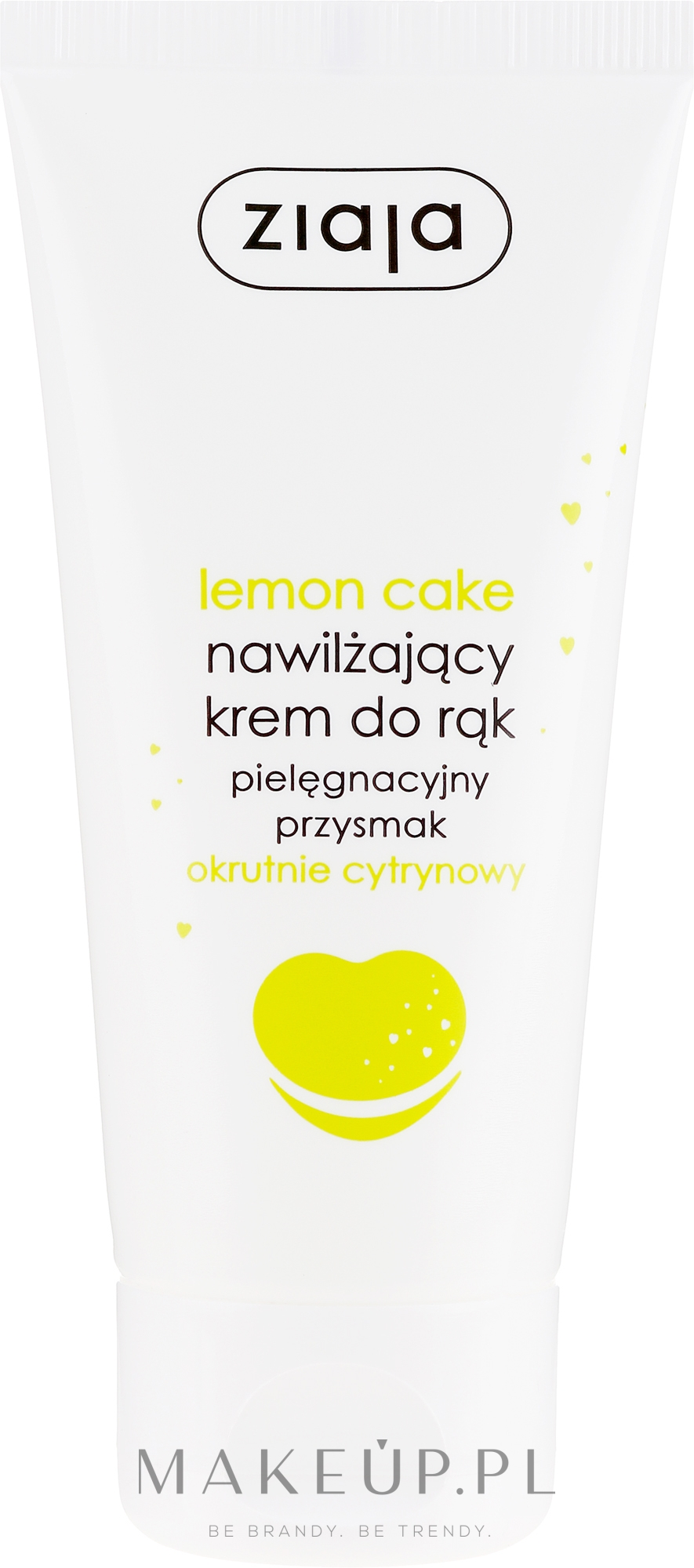 Nawilżający krem do rąk Okrutnie cytrynowy - Ziaja Pielęgnacyjny przysmak Lemon Cake — фото 50 ml