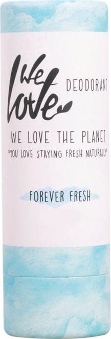 Nawilżający dezodorant w sztyfcie - We Love The Planet Forever Fresh Deodorant Stick  — фото N1