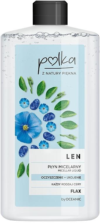Płyn micelarny Oczyszczenie + ukojenie - Polka Len
