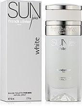 Kup Franck Olivier Sun Java White For Men - Woda toaletowa