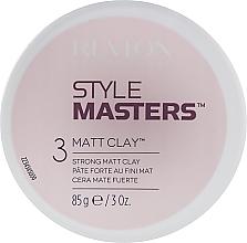 Modelująca glinka do włosów - Revlon Professional Style Masters Matt Clay — фото N1