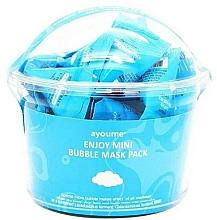 Kup Zestaw oczyszczających maseczek bąbelkujących do twarzy - Ayoume Enjoy Mini Bubble Mask Pack