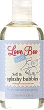 Kup Delikatny płyn do kąpieli dla dzieci z olejem monoi i owsem - Love Boo Baby Soft & Splashy Bubbles