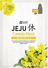 Kup Nawilżająca maseczka w płachcie do twarzy z olejem rzepakowym - SNP Jeju Rest Canola Mask