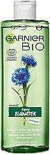 Kup Kojąca woda micelarna do twarzy - Garnier Bio Soothing Cornflower Micellar Water
