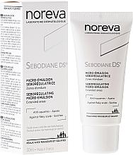 Kup PRZECENA! Emulsja do włosów regulująca wydzielanie sebum - Noreva Laboratoires Sebodiane DS Sebum-Regulating Micro-Emulsion*