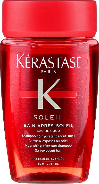 Szampon do włosów farbowanych - Kerastase Bain Apres Soleil Travel Version — фото N1