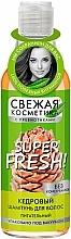 Kup Cedrowy szampon do włosów - FitoKosmetik Super Fresh