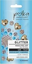 Kup Maska peel-off do twarzy Rozświetlenie + ujędrnienie Len - Polka Glitter Peel Off