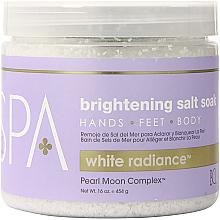 Kup PRZECENA! Rozjaśniająca sól morska - BCL Spa White Radiance Brightening Salt Soak *