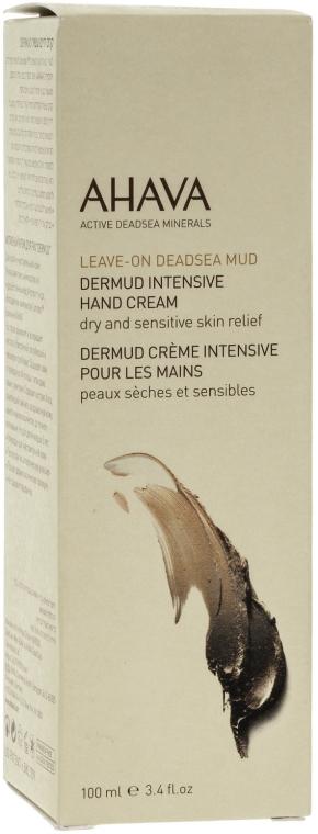 Odżywczy krem do rąk - Ahava Dermud Body Cream Dry & Sensitive Relief — фото N2
