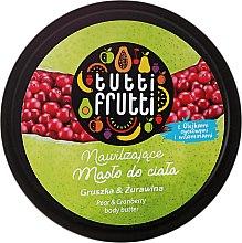 Kup Nawilżające masło do ciała Gruszka i żurawina - Farmona Tutti Frutti Pear & Cranberry