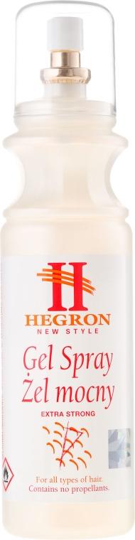 Mocny żel do stylizacji włosów - Hegron Styling Gel Spray Extra Strong  — фото N3