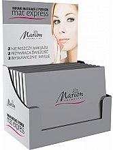 Kup Zestaw bibułek matujących z pudrem, 4 szt. + 1 - Marion Mat Express