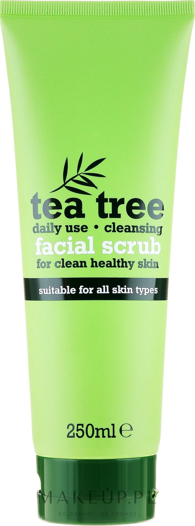 Oczyszczający peeling do twarzy Drzewo herbaciane - Xpel Marketing Ltd Tea Tree Facial Scrub — фото 250 ml
