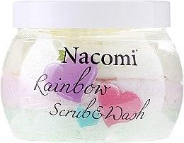 Kup Pianka myjąco-peelingująca o zapachu słodkiego arbuza - Nacomi Rainbow Scrub & Wash
