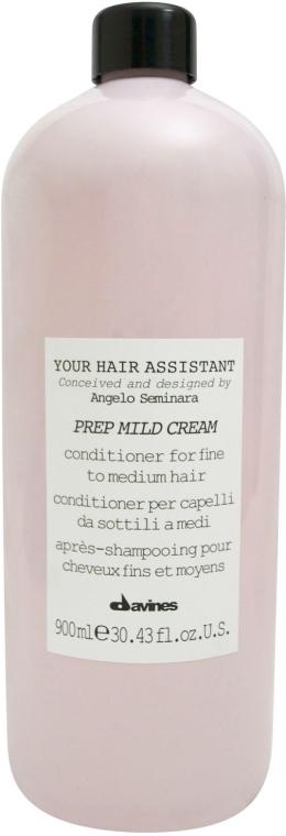 Odżywka do włosów normalnych i cienkich - Davines Your Hair Assistant Prep Mild Cream — фото N3