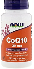 Kup Koenzym Q10, 30 mg, 120 kapsułek - Now Foods CoQ10