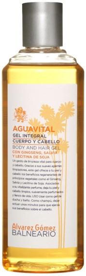 Alvarez Gomez Balneario Aguavital - Perfumowany żel pod prysznic — фото N1
