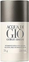 Kup Giorgio Armani Acqua di Giò Men Deodorant Stick - Perfumowany dezodorant w sztyfcie bez alkoholu