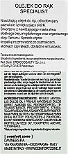 Odżywczy olejek do rąk i paznokci - Comfort Zone Specialist Hand Oil — фото N3