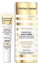Kup Infuzyjny złoty krem przeciwzmarszczkowy pod oczy i na powieki - Christian Laurent Pour La Beaute