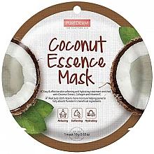 Kup Maseczka do twarzy w płachcie z ekstraktem z kokosa - Purederm Coconut Essence Mask