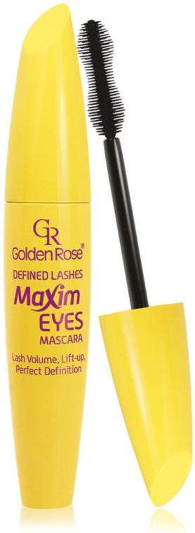 Tusz do rzęs - Golden Rose Maxim Eyes Defined Lashes Mascara