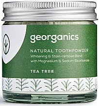 Kup Naturalny proszek do zębów - Georganics Tea Tree Natural Toothpowder
