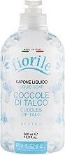 Mydło w płynie - Parisienne Italia Fiorile Cuddles Of Talc Liquid Soap — фото N1