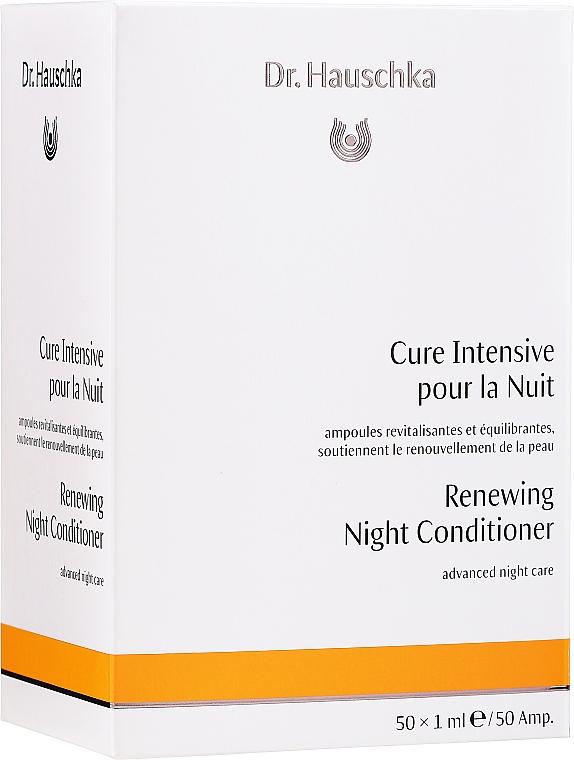 Kuracja w ampułkach na noc - Dr. Hauschka Renewing Night Conditioner