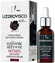 Kup Aktywne roślinne serum do twarzy przeciw zmarszczkom - Uzdrovisco Black Tulip
