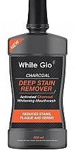 Kup Wybielający płyn do płukania jamy ustnej - White Glo Charcoal Deep Stain Remover Mouthwash